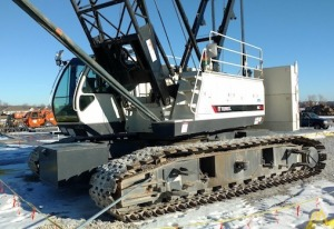 Terex HC110-1 110-Ton Lattice Boom Crawler Crane