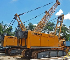 120t Liebherr HS 885 HD Duty Cycle Crawler Crane