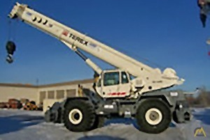120t Terex RT 1120 Rough Terrain Crane