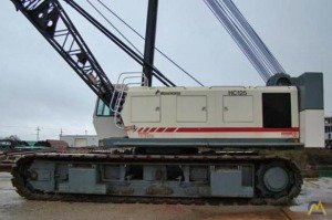 Terex HC125 125-Ton Lattice Boom Crawler Crane