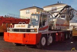 150t Link-Belt HC-238H Lattice Boom Truck Crane