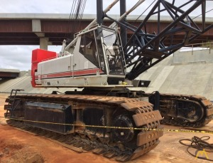 150t Link-Belt LS-238H Lattice Boom Crawler Crane
