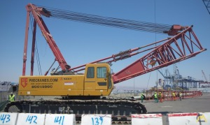 Sany SCC1500C 150-Ton Lattice Boom Crawler Crane