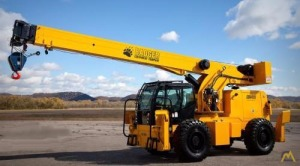 Badger CD4415 15-Ton Down Cab Rough Terrain Crane