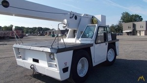 Broderson IC-200-2A 15-ton Carry Deck Industrial Crane