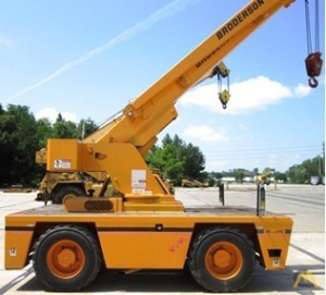15t Broderson IC-200-2F Carry Deck Crane