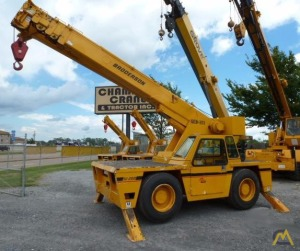 Broderson IC-200-3D 15-Ton Carry Deck Crane