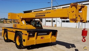 Broderson IC-200-3G 15-ton Carry Deck Industrial Crane