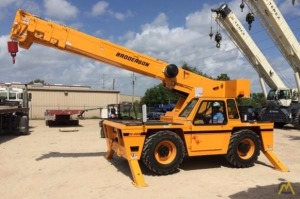 Broderson IC-200-J 15-ton Industrial Carry Deck Crane