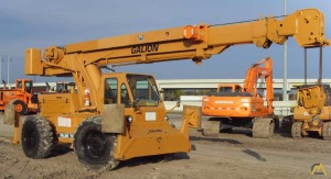 Galion 150F 15-ton Down Cab Rough Terrain Crane