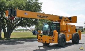 Manitex M150/Badger CD4415 15-Ton Down Cab Rough Terrain Crane