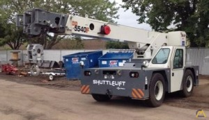 15t Shuttlelift 5540F Carry Deck Crane
