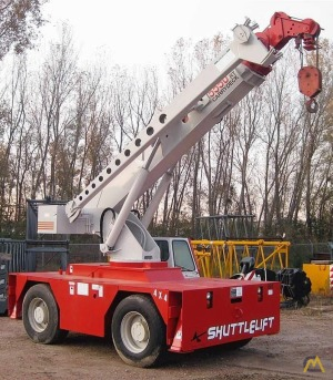 15t Shuttlelift 5550RT Carry Deck Crane