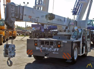 15t Shuttlelift CD5515-2 Carry Deck Crane