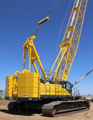 Kobelco CK1600G 160-ton Lattice Boom Crawler Crane