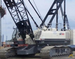 Terex HC 165 165-ton Lattice Boom Crawler Crane