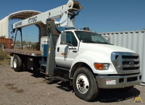 17 TON - 120' MAX TIP HEIGHT - VERY LOW MILES!