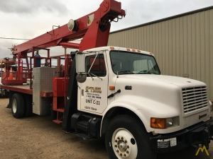 Terex BT 3470 17-ton Boom Truck Crane on International 4700