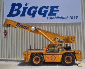 Broderson IC-250-3C 18-ton Carry Deck Industrial Crane