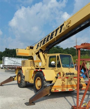Grove RT58C 18-Ton Down Cab Rough Terrain Crane