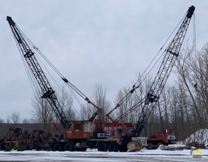 1964 Link-Belt HC-108B 40-Ton Lattice Boom Truck Crane