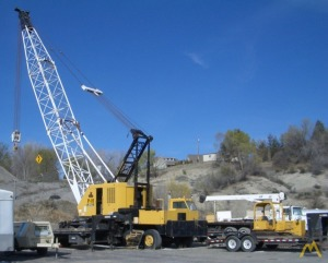 1967 P&H 780-TC 80-Ton Lattice Boom Truck Crane; CranesList ID: 106