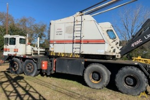 1970 Link-Belt HC-108C 50-Ton Lattice Boom Truck Crane