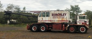 1971 Link-Belt HC-238 125-Ton Lattice Boom Truck Crane