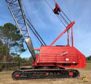 1971 Manitowoc 3900W SII VICON 140-Ton Lattice Boom Crawler (Remanned in 2006); CranesList ID: 375