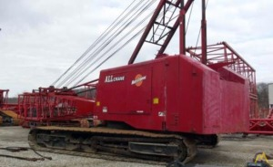 1974 Manitowoc 4100W-S2 230-Ton Lattice Boom Crawler Crane