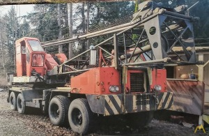 1974 P&H 435-TC 35-Ton Lattice Boom Truck Crane; CranesList ID: 527