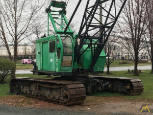 1978 P&H 670WLC 70-Ton Lattice Boom Crawler Crane
