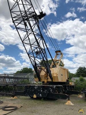 1978 P&H 9125-TC 140-Ton Lattice Boom Truck Crane