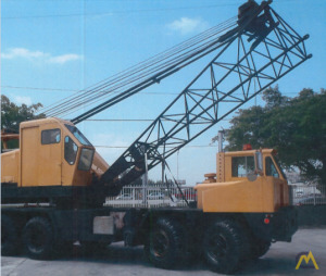 1979 P&H 440-TC 40-Ton Lattice Boom Truck Crane