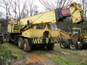 1979 P&H T-750 75-Ton Telescopic Boom Hydraulic Truck Crane