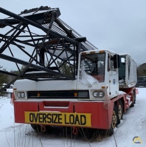 1984 Link-Belt HC138A 75-Ton Lattice Boom Truck Crane; CranesList ID: 317 - 2,536 thought to be original Hours...Crane is  Cream Puff!