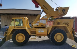 1990 Grove RT58D 20-Ton Down Cab Rough Terrain Crane
