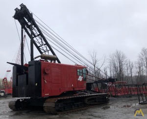 1990 Manitowoc 4000W  Vicon 230-Ton Lattice Boom Crawler Crane