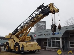 1992 Grove RT745 45-Ton Rough Terrain Crane