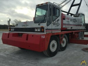 1992 Link-Belt HC-228H 125-Ton Lattice Boom Truck Crane