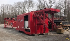 1993 Manitowoc 4000W Vicon 175-Ton Lattice Boom Crawler Crane