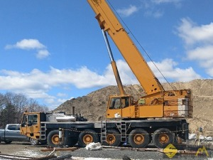 1995 Demag AC 395 132-Ton All Terrain Crane