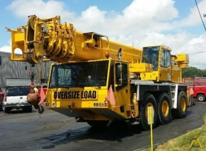 1996 Demag AC 155 60-Ton All Terrain Crane