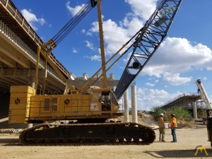 Kobelco 7150 150-Ton Lattice Boom Crawler Crane