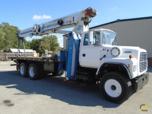 Manitex 2284 22-Ton Boom Truck on Ford - CranesList ID: 244