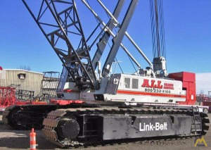 1998 Link-Belt LS-248HII 200-Ton Lattice Boom Crawler Crane