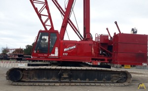 1998 Manitowoc 777 S-2 200-Ton Lattice Boom Crawler Crane