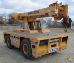 1999 Broderson IC80-1F 9-Ton Carry Deck; CranesList ID: 224