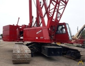 1999 Manitowoc 777 S2 200-Ton Lattice Boom Crawler Crane