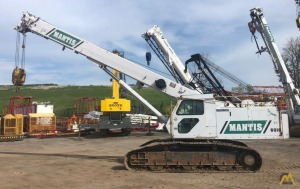 1999 Mantis 6010 30-Ton Telescopic Crawler Crane